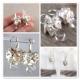 Keishi pärlor Bergkristall örhängen brudörhängen - Bianca