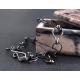 Mens bracelet oxidized sterling silver mens fashion - Hermes
