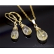 Golden Rutilated Quartz earrings 14K gold filled - Elina