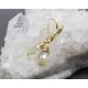 Golden Rutilated Quartz earrings 14K gold filled - Elina