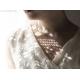 Blå Topas halsband sterling silver turkos blå halsband - Nimue