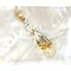 Rutilkvarts halsband äkta 14K guld guldsmycke - Venus Hair
